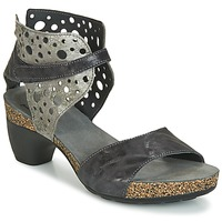 Shoes Women Sandals Think MOLAKTAR Black / Silver