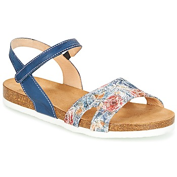 Shoes Women Sandals Think ZIFUDEKE Blue