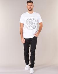 material Men slim jeans Diesel THOMMER Black / 0688h