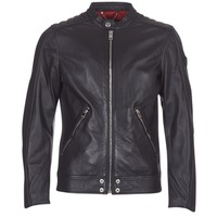 material Men Leather jackets / Imitation leather Diesel L SQUAD Black