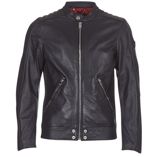material Men Leather jackets / Imitation leather Diesel L SQUAD Black