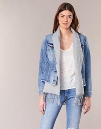 material Women Denim jackets Scotch & Soda XAOUDE Blue / Clear / Grey