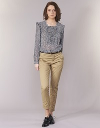 material Women chinos Maison Scotch BEIBEO Beige