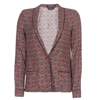 material Women Jackets / Blazers Maison Scotch FROGK Prune
