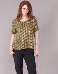 material Women Blouses Maison Scotch SINIM Black / Mustard