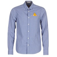 material Men long-sleeved shirts Scotch & Soda EXCITON Blue