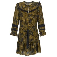 material Women Short Dresses Maison Scotch NOONPL Kaki