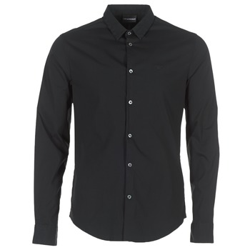 material Men long-sleeved shirts Emporio Armani BEWO Black