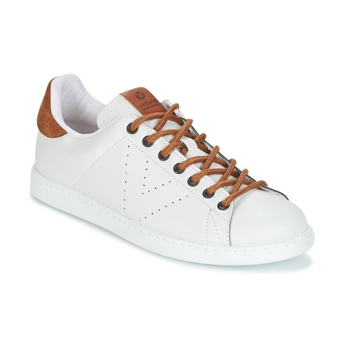 Shoes Men Low top trainers Victoria DEPORTIVO PU CONTRASTE White