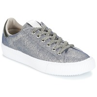 Shoes Girl Low top trainers Victoria DEPORTIVO LUREX Silver