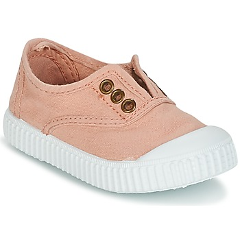 Shoes Girl Low top trainers Victoria INGLESA LONA TINTADA Pink
