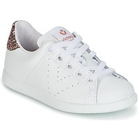 Shoes Children Low top trainers Victoria DEPORTIVO BASKET PIEL KID White