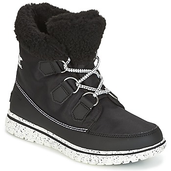 Shoes Women Mid boots Sorel Cozy Carnival Black / Sea / Salt