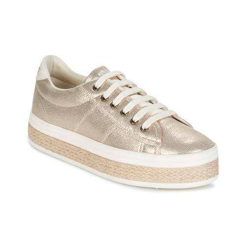 Shoes Women Low top trainers No Name MALIBU GLOW Gold