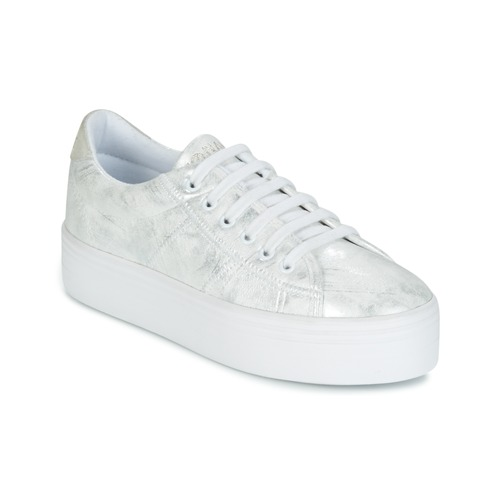Shoes Women Low top trainers No Name PLATO SNEAKER Silver