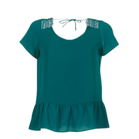 material Women Blouses Betty London INOTTE Green