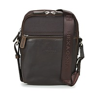 Bags Men Pouches / Clutches Hexagona BACACINE Brown
