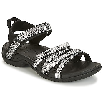Shoes Women Sports sandals Teva TIRRA Black / White