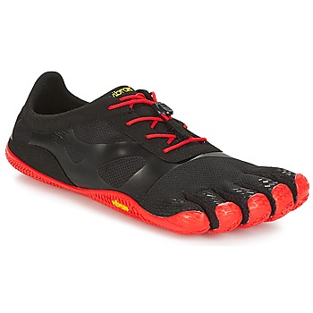 Shoes Men Running shoes Vibram Fivefingers KSO EVO Black / Red