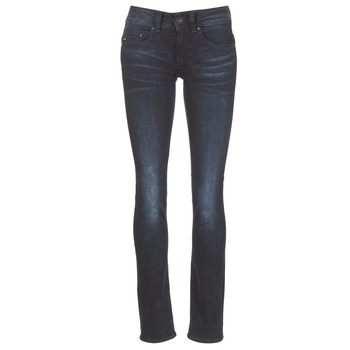 material Women straight jeans G-Star Raw MIDGE SADDLE MID STRAIGHT Rink