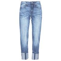 material Women 3/4 & 7/8 jeans G-Star Raw LANC 3D HIGH STRAIGHT Blue