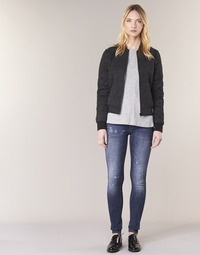 material Women Skinny jeans G-Star Raw D-STAQ 5 PKT MID SKINNY Medium / Aged / Restored