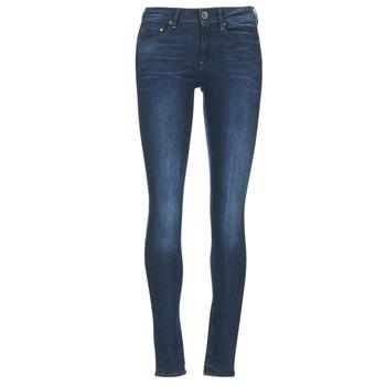 material Women Skinny jeans G-Star Raw MIDGE ZIP MID SKINNY Neutro