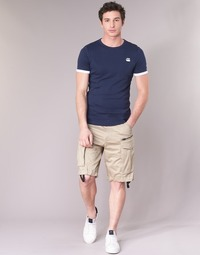 material Men Shorts / Bermudas G-Star Raw ROVIC ZIP LOOSE 1/2 Beige