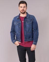 material Men Denim jackets G-Star Raw D-STAQ 3D DC S JKT Medium / Vintage / Aged