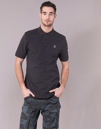 material Men short-sleeved polo shirts G-Star Raw DUNDA POLO S/S Black
