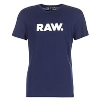 material Men short-sleeved t-shirts G-Star Raw HOLORN R T S/S Marine