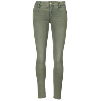 material Women 5-pocket trousers G-Star Raw D-STAQ 5-PKT MID SKINNY COJ WMN Light / Hunter