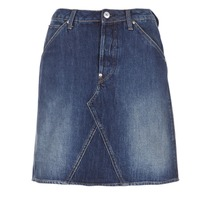 material Women Skirts G-Star Raw 5622 CUSTOM A-LINE SKIRT Blue