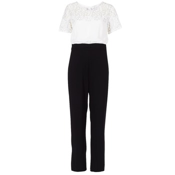 material Women Jumpsuits / Dungarees Molly Bracken YURITOE Black / White