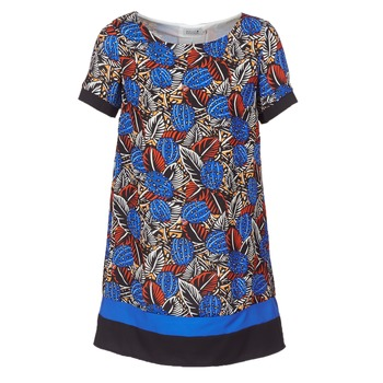 material Women Short Dresses Molly Bracken JUNCE Blue