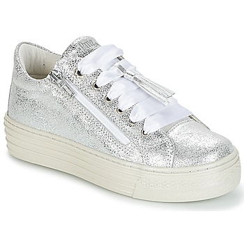 Shoes Girl Low top trainers Primigi RAPATITE Silver