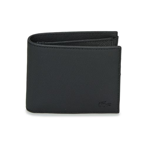 Bags Men Wallets Lacoste MEN'S CLASSIC Black
