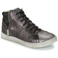 Shoes Girl Mid boots GBB CARLA Ctv / Silver black