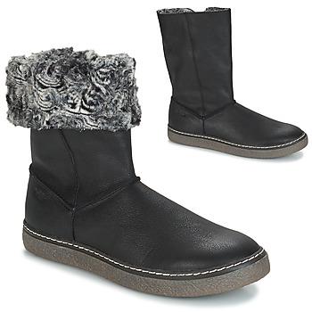 Shoes Girl Boots GBB DUBROVNIK Nub / Black