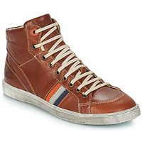 Shoes Boy High top trainers GBB ANGELO Brown