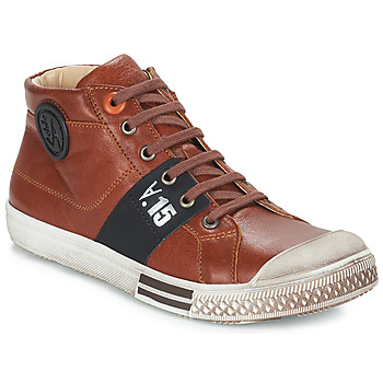 Shoes Boy Boots GBB RUFINO Brown / Lucky