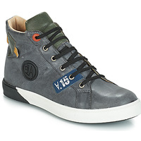 Shoes Boy Boots GBB SILVIO Nuv / Gray-green