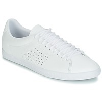 Shoes Women Low top trainers Le Coq Sportif CHARLINE LEATHER White