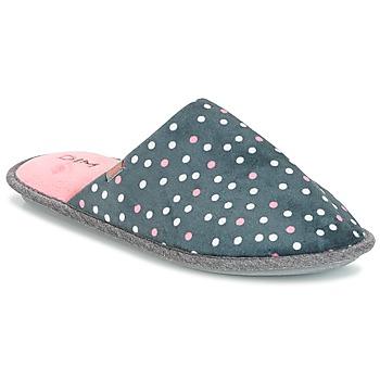 Shoes Women Slippers DIM D BECKY Black