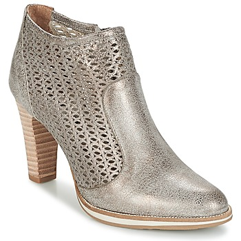 Shoes Women Ankle boots Myma LINOPOS Silver