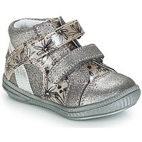 Shoes Girl Mid boots GBB ROXANE Grey / Silver