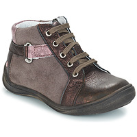 Shoes Girl Mid boots GBB RICHARDINE Vtc / Pink/dar red