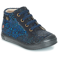 Shoes Girl High top trainers GBB REGINE Blue