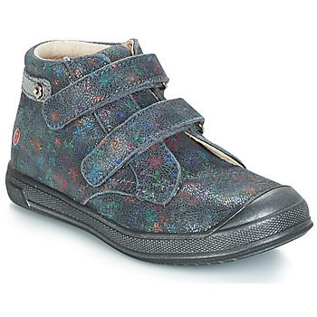 Shoes Girl Mid boots GBB RACHEL Vte / Grey / Printed