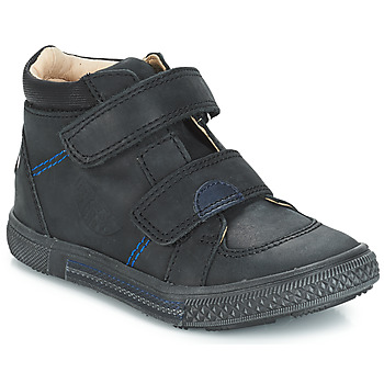 Shoes Boy Mid boots GBB ROBERT Vts / Black